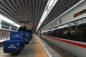 """中国铁路:推出""""高铁+电商""""等多项运输服务 今年""""双11""""高铁快递当日即达"""