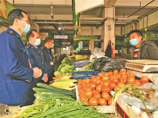 玉林市市场监督管理局对群众生活必需品进行重点检查
